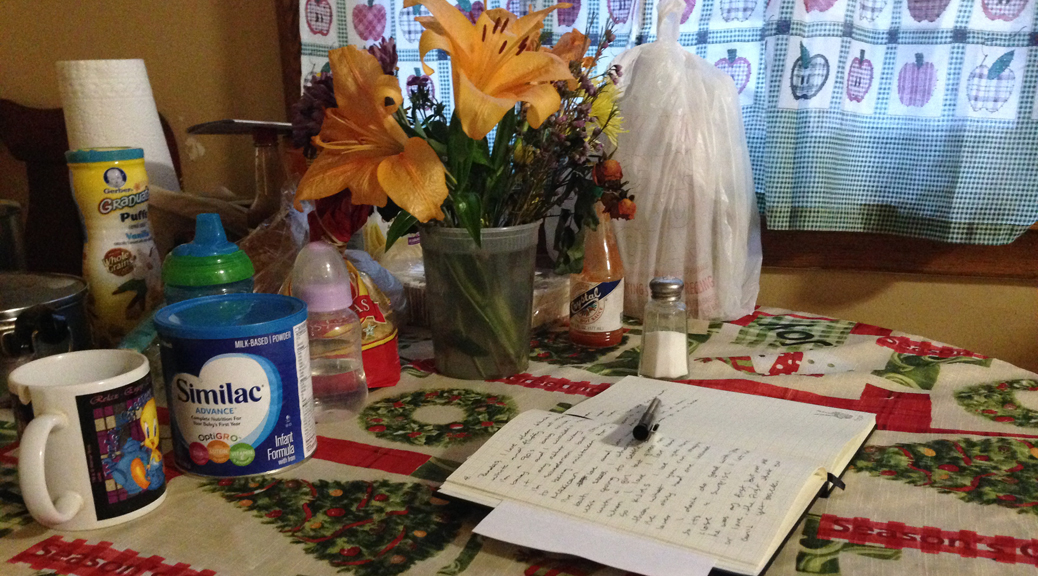 Being a Mother Writer, by Blanca Crespin