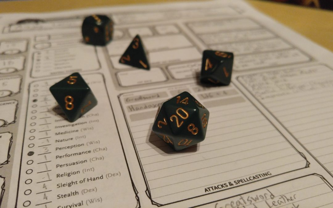 Writers & Roleplayers: Lessons in Story-Crafting can be the Real Loot in Tabletop RPGs, By Grant Brengman