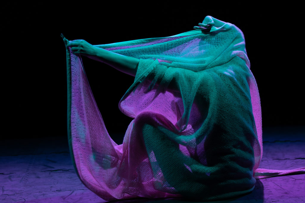 dancing with textiles
